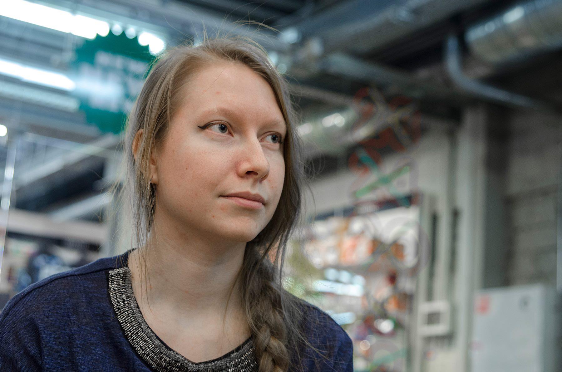 Ольга Жижилева приехала на встречу с Enjourney из Твери.