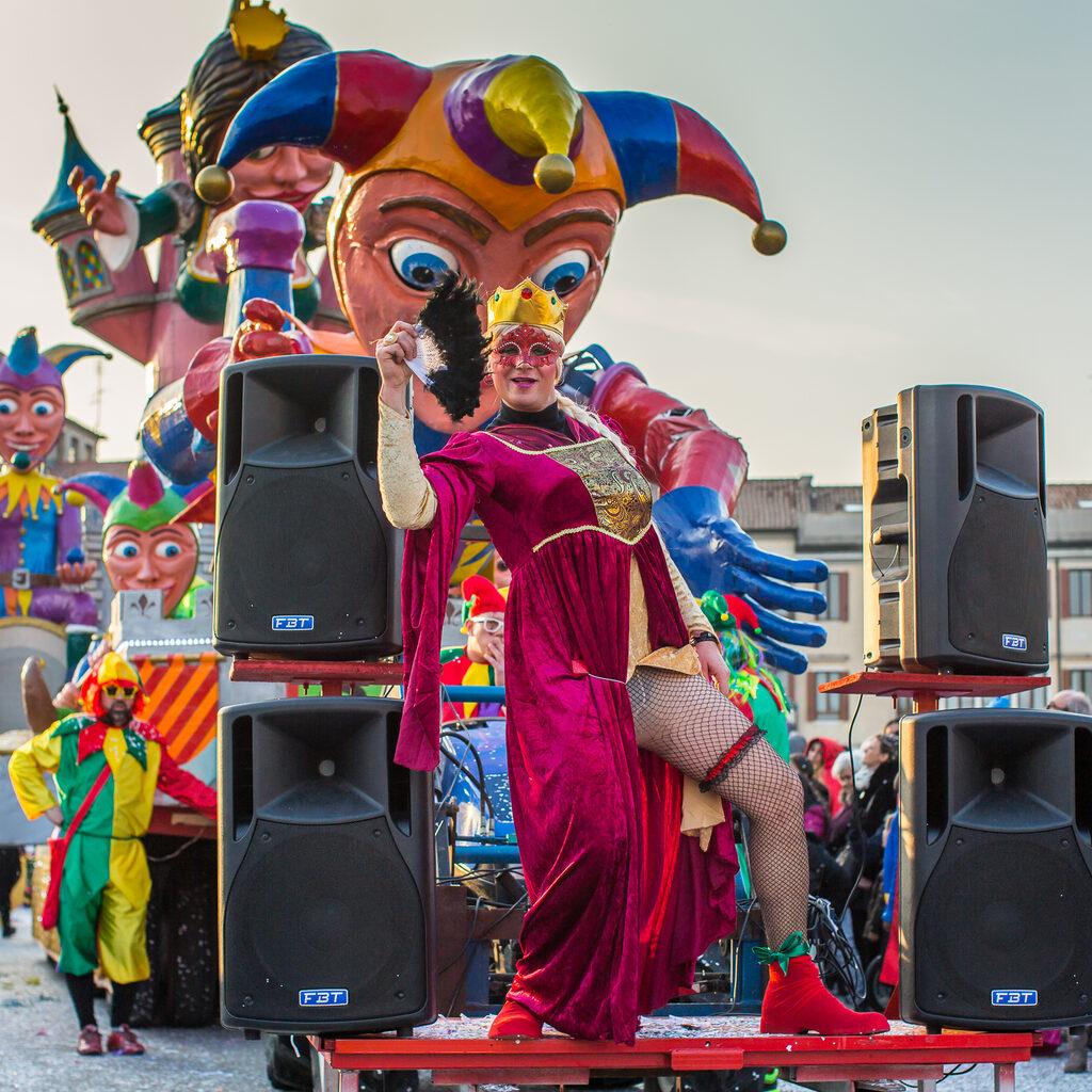 Карнавал в Падуе 2018