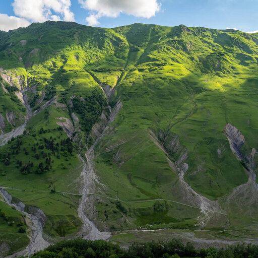 Поездка в Казбеги. Природа. Горы