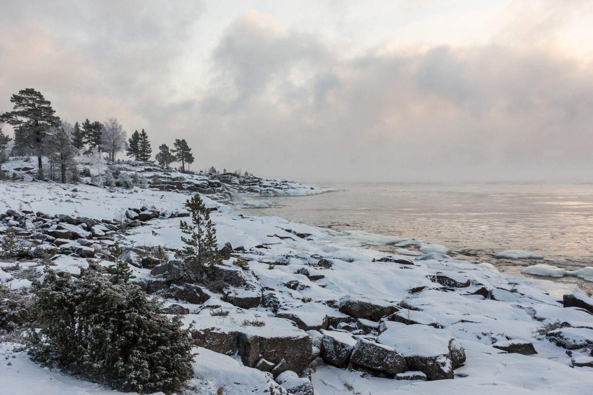 Остров Валаам. Рождество 2017. Природа часть 2.