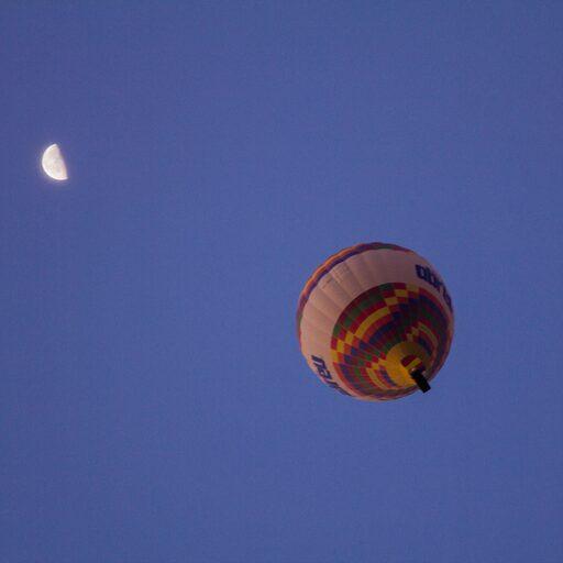 Воздушные шары в Гёреме