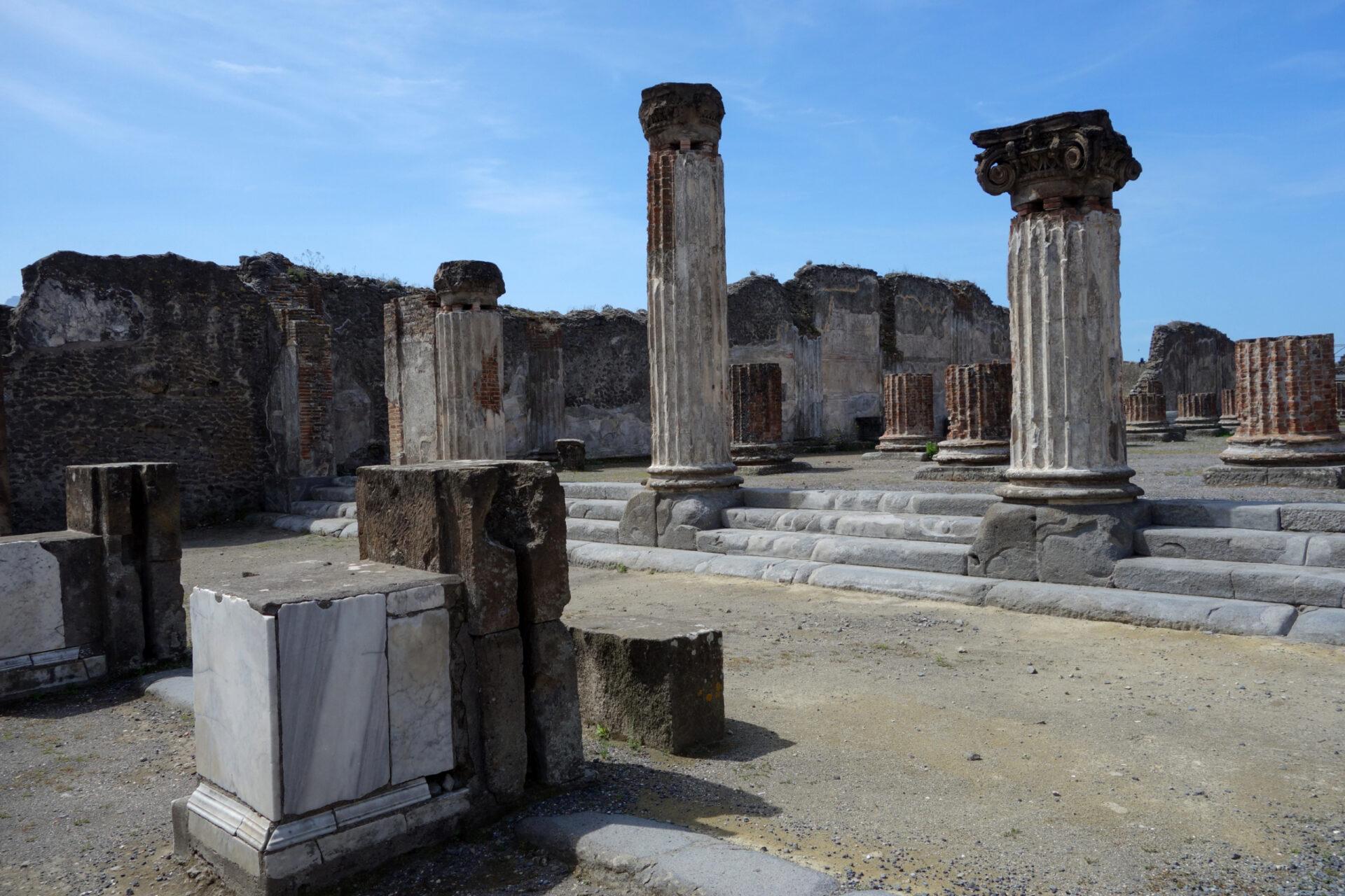Помпеи, Италия -