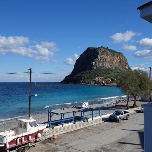 Греция. Остров-крепость Монемвасия