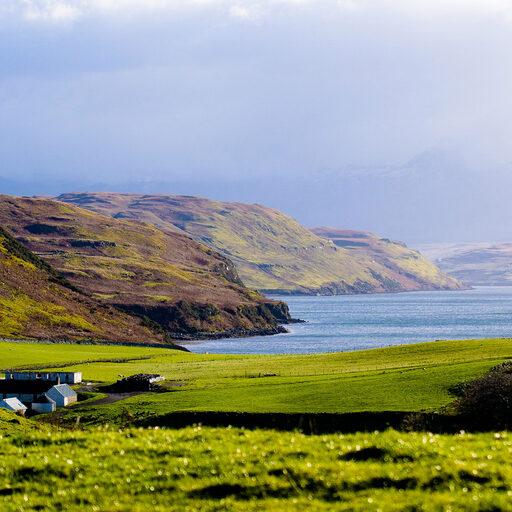 Шотландия осенью
