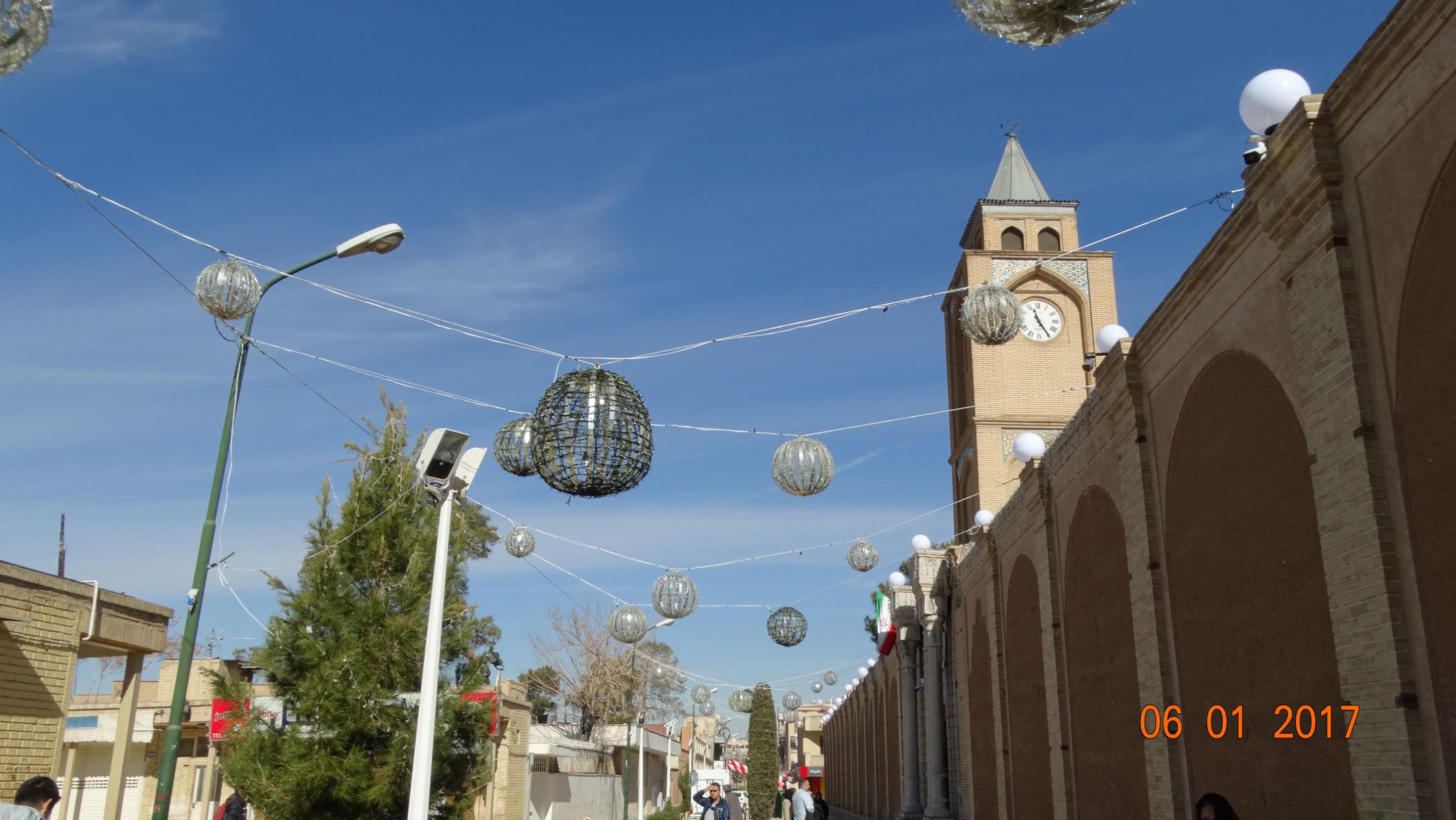Армянский квартал в Исфахане.