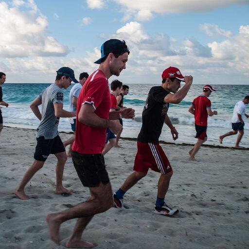 Тренировочный сбор на Острове Свободы