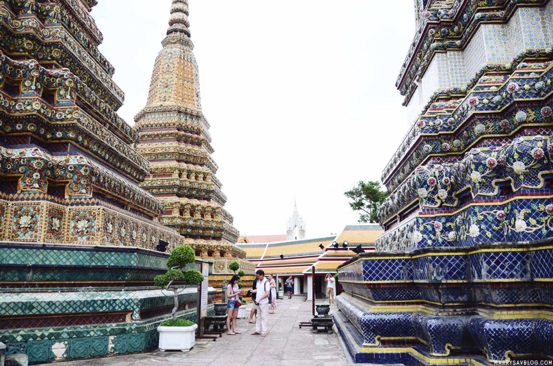 Немного оЛежащем Будде: храм Ват Пхо вБангкоке