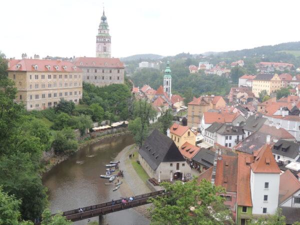 Чехия— памятники UNESCO (+ немного Германии иАвстрии). Часть 4: Чешски Крумлов иПраздник пятилепестковой розы