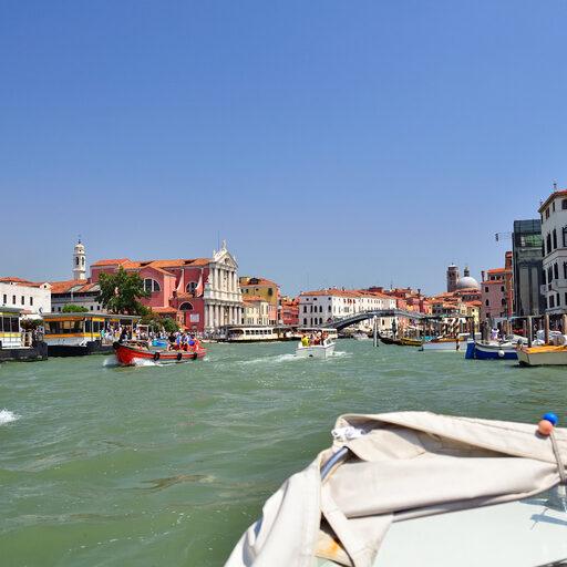 По Гранд каналу с ветерком или на пути в Венецию