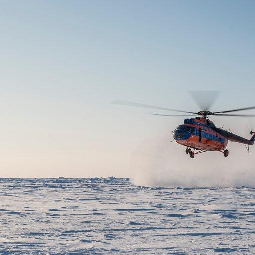 Лед… какой он на Северном Полюсе.