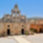 Греция. Крит. Монастырь Аркади.