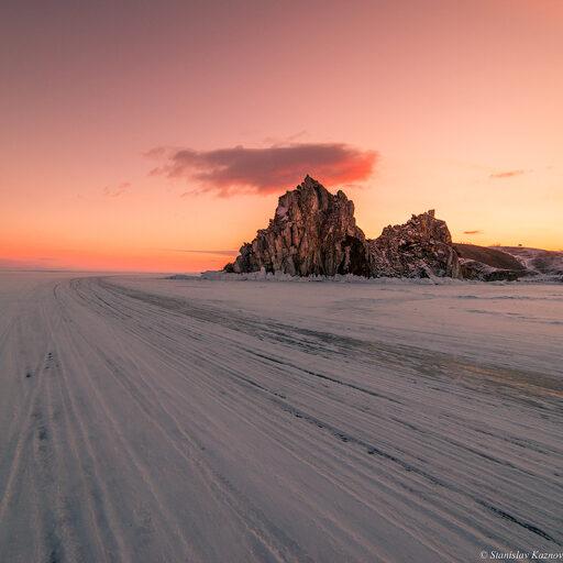 «Зимняя сказка Байкала». День 5: Рассвет, закат, тишь да гладь…