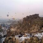 Навоздушном шаре над Каппадокией