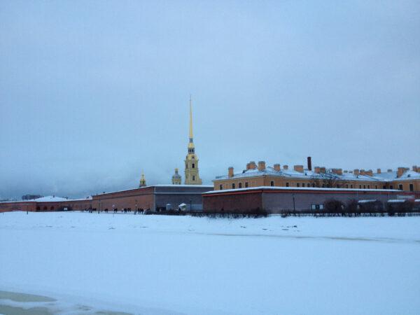 Февральский Санкт-Петербург