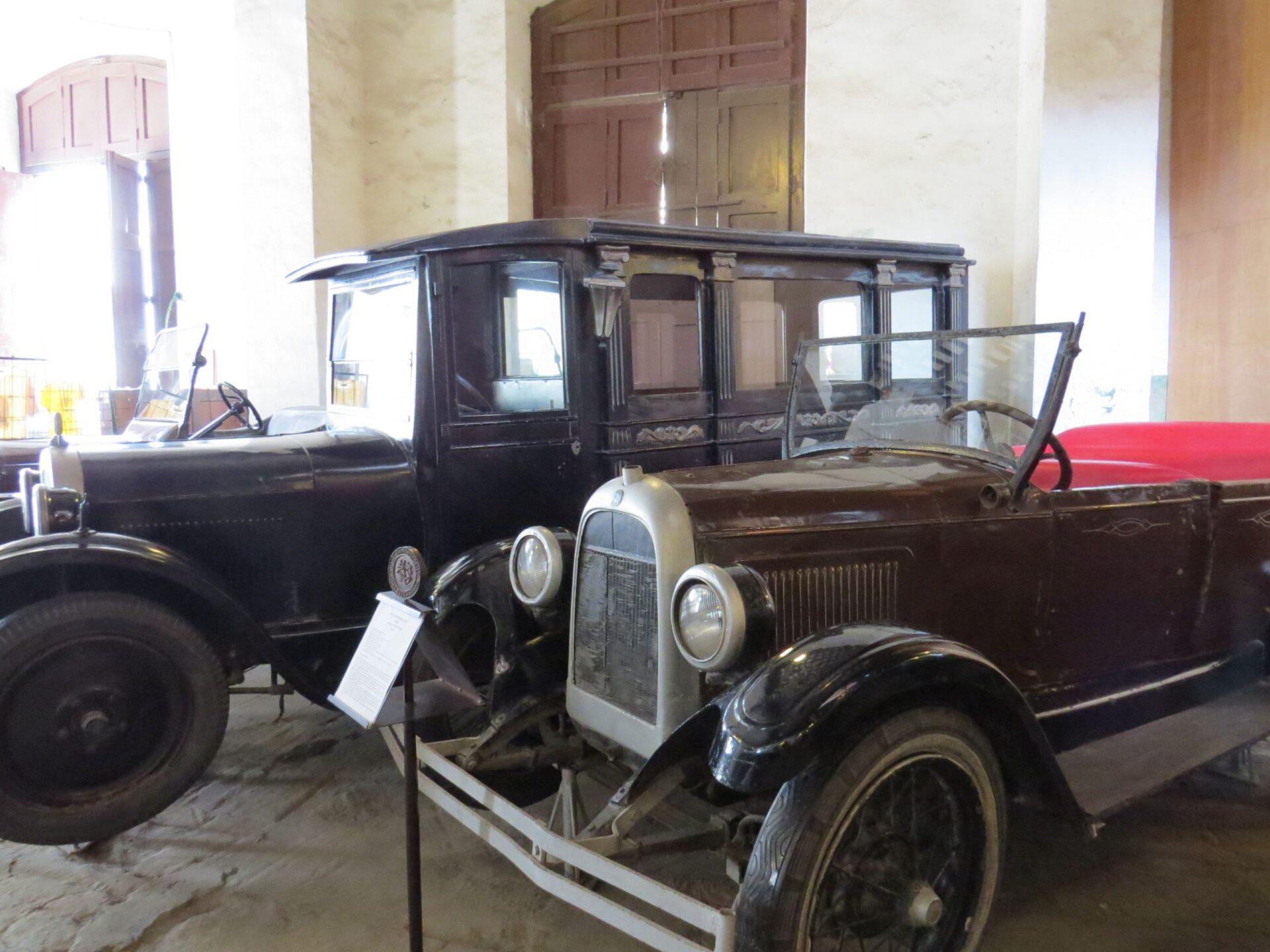 Музей старых машинок вГаване