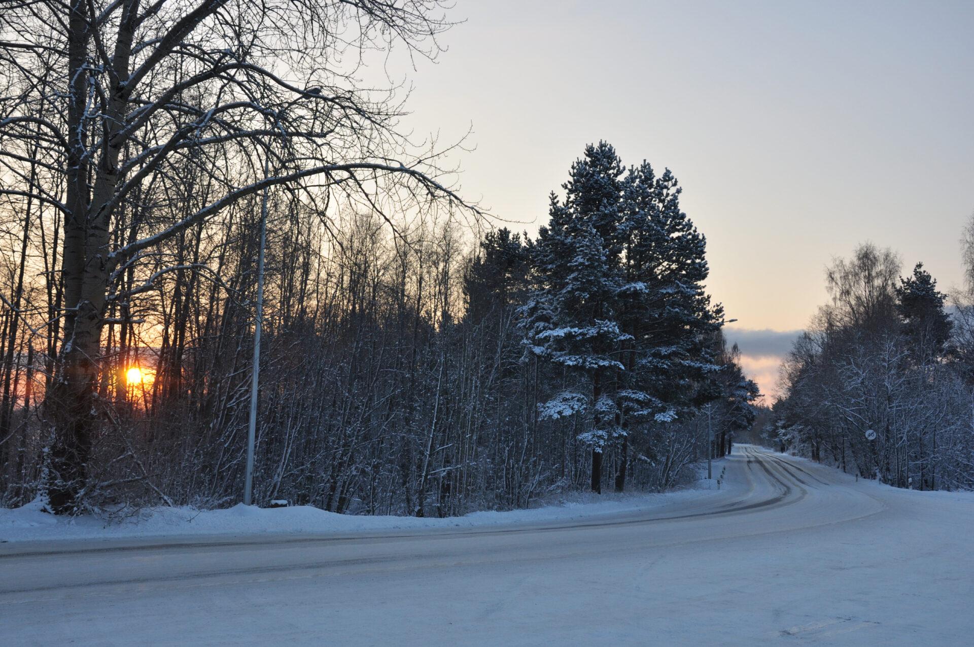 Зимние Кижи навертолете