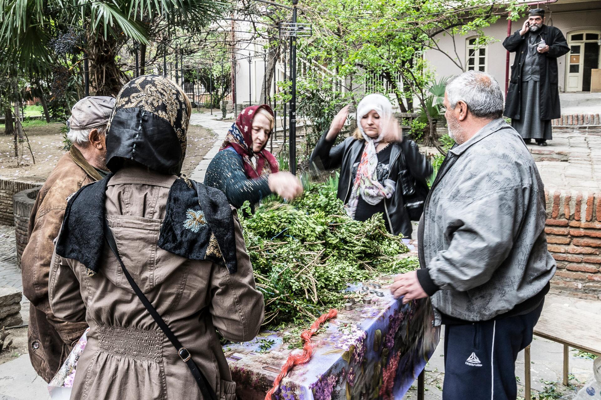 Тбилиси, Грузия, апрель 2017