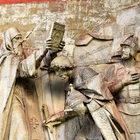 Донской монастырь. Часть 2. Уцелевшие горельефы.