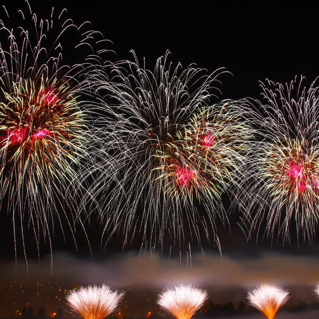 Третий Международный Фестиваль фейерверков «Ростех».