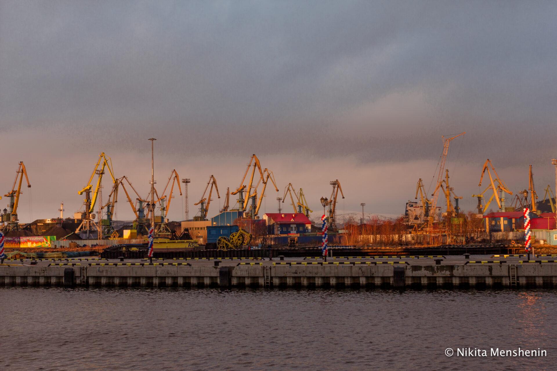 Мурманск иТериберка вноябре 2017г.