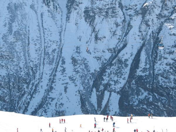 Спасательная операция наавстрийском горнолыжном подъемнике