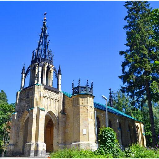 Два готических храма.