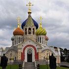 Переделкинское кладбище ирезиденция патриарха.