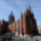 ОтСадово-Кудринской ксамому красивому костёлу Москвы.