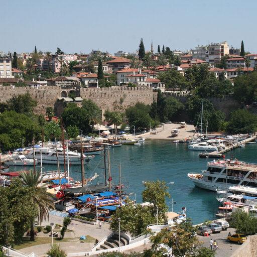 Наш российский курорт- Анталийское побережье Турции