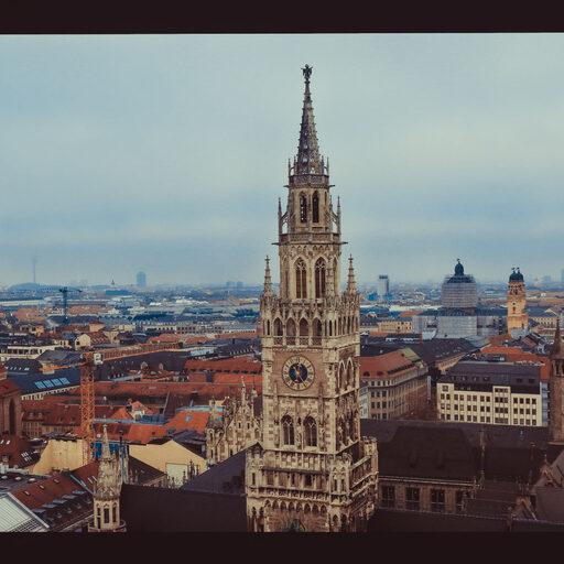 Крыши Мюнхена