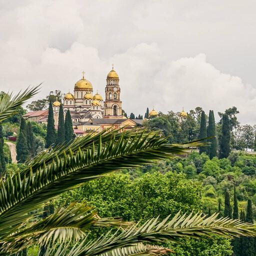 Абхазия. Новый Афон и монастырь, часть 2