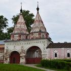 Суздаль сколокольни Ризоположенского монастыря