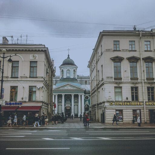Петербург в августе