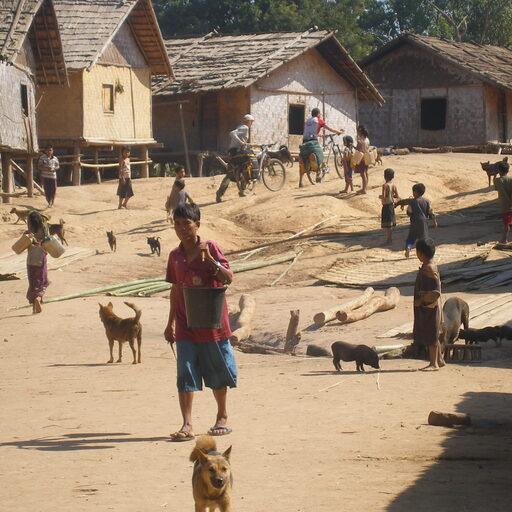 Велопоход по Лаосу. 800 км.