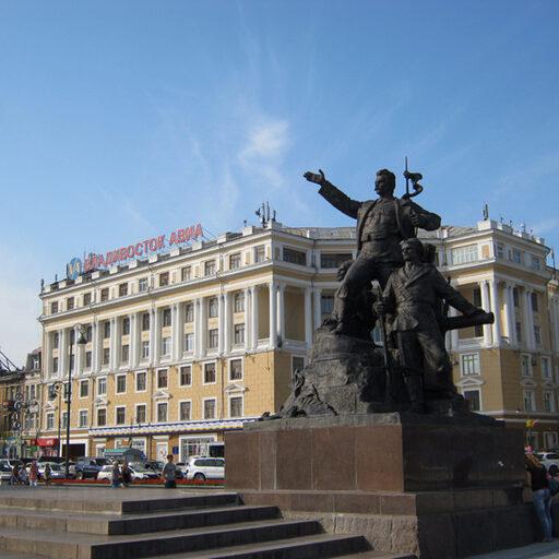 Владивосток. Вспоминаем лето и прогулки по городу