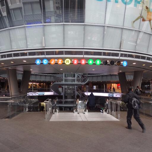 Фултон Стейшен самая дорогая станция метро в Нью-Йорке