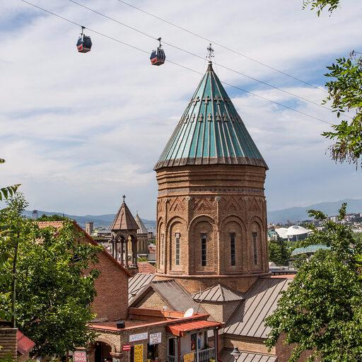 Тбилиси с высоты