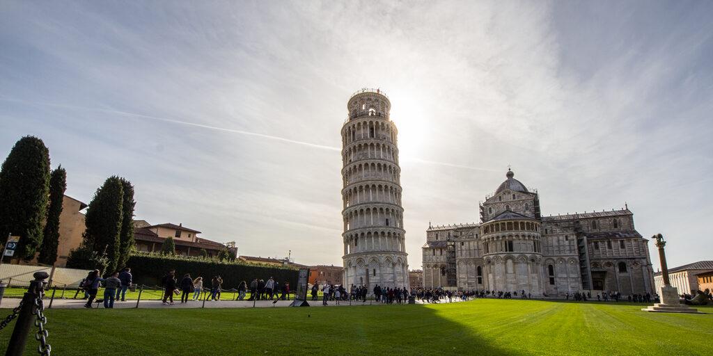 Поездка по Италии на машине из Пизы до Бергамо (апрель 2018)