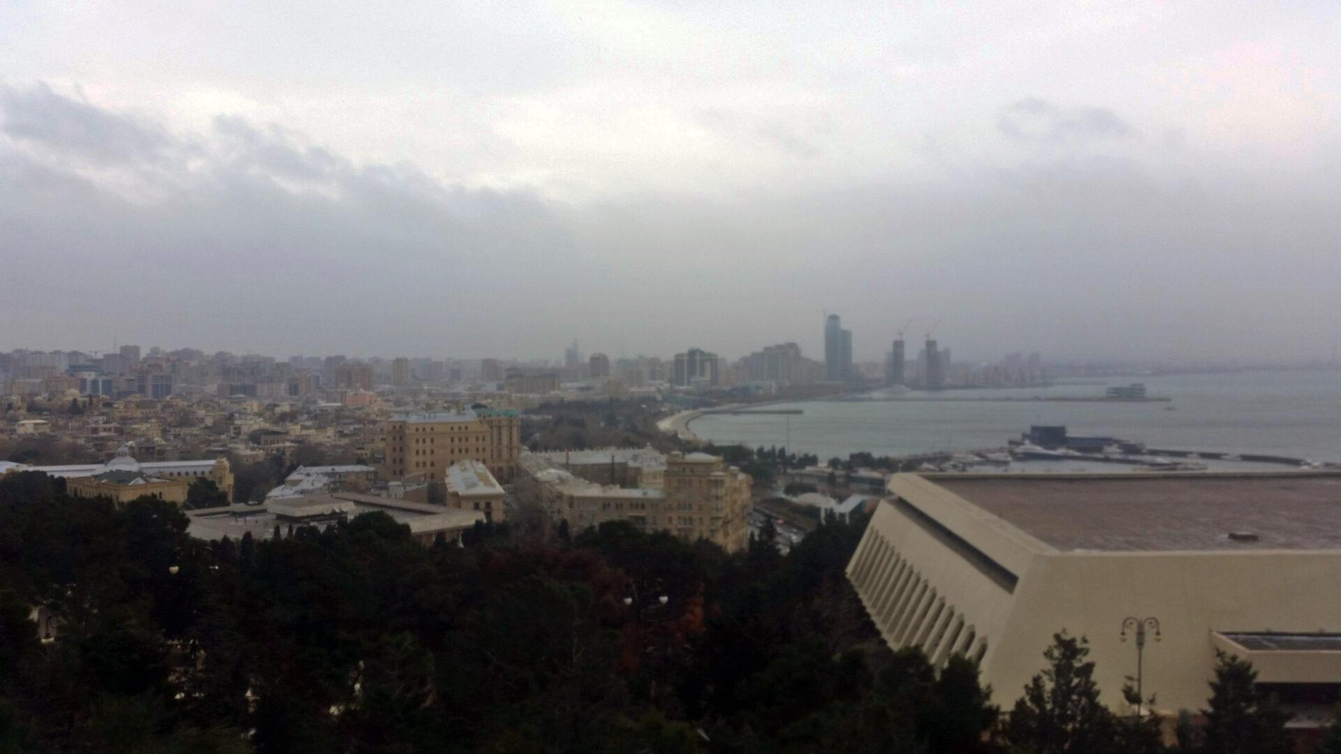 Неприветливый Баку. Один день вАзербайджане.