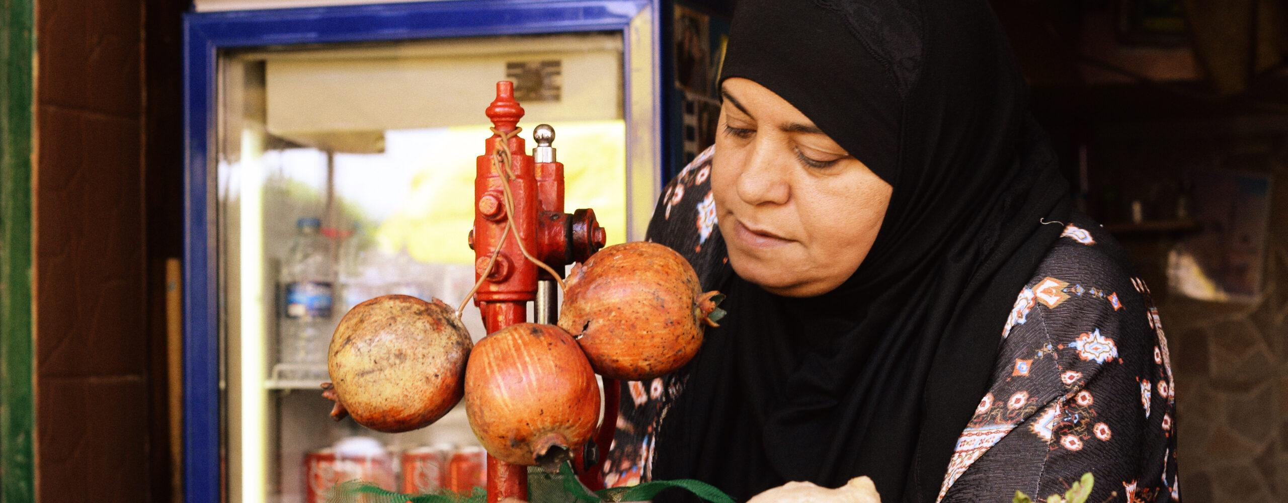 Арабский рынок Акко