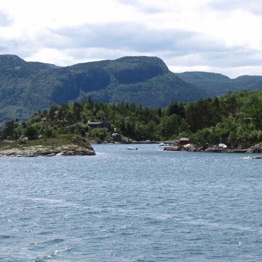 Норвегия. Люсефьорд и Кафедра Проповедника (Прекестулен)