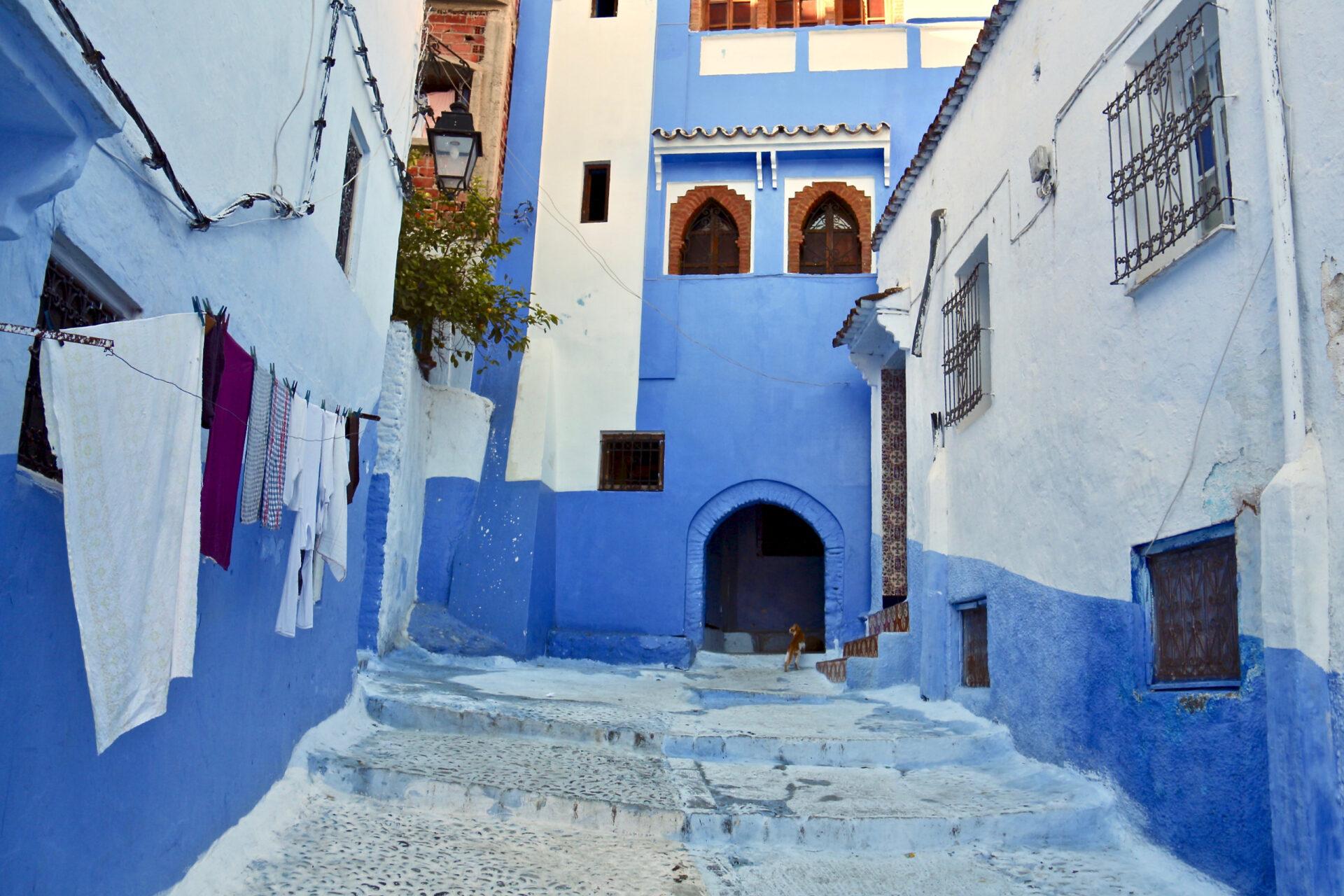 Марокко. Шефшауэн.