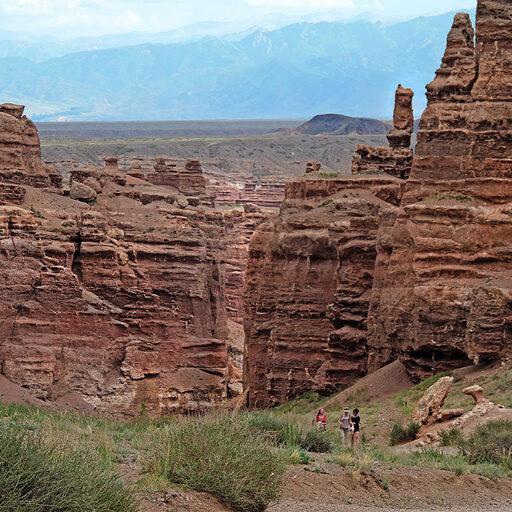 По родному краю с иностранным гидом. Часть 4. Чарынский каньон