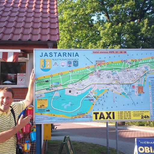Jastarnia. Польша. Прогулка по городу. Часть 2.