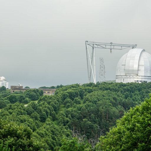 Карачаево-Черкесия. Архыз. Специальная астрофизическая обсерватория РАН.