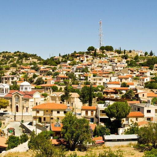 Кипр. Троодос и закат на скалах Афродиты