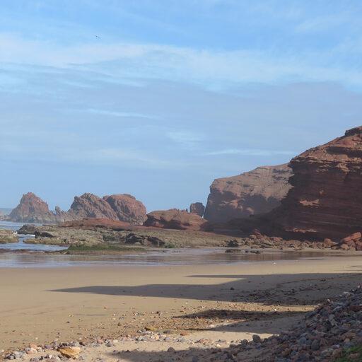 Пляж Легзира… из другого мира.