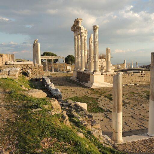 Античный Пергам — родина пергамента.