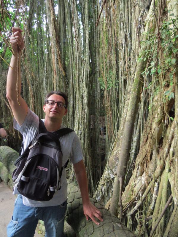 Лес Обезьян, Убуд, Бали.