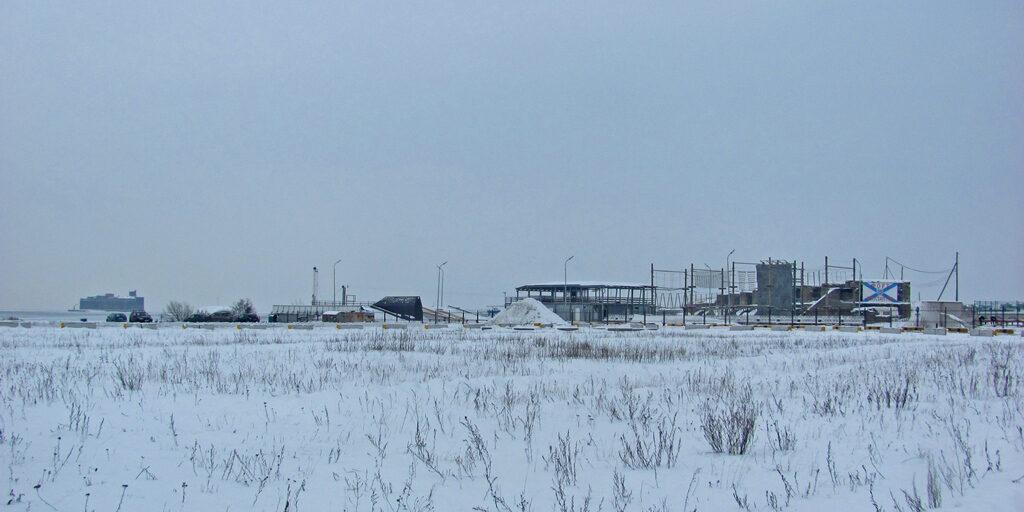 Форт «Великий Князь Константин» и зимний Финский